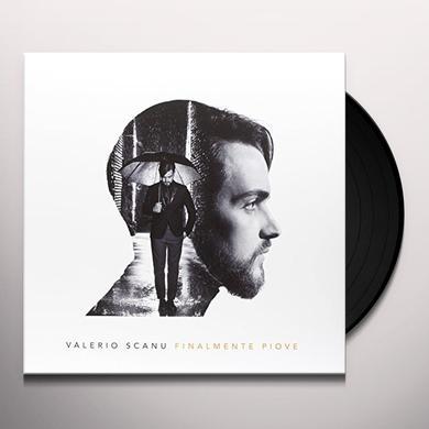 Valerio Scanu FINALMENTE PIOVE Vinyl Record - Italy Import