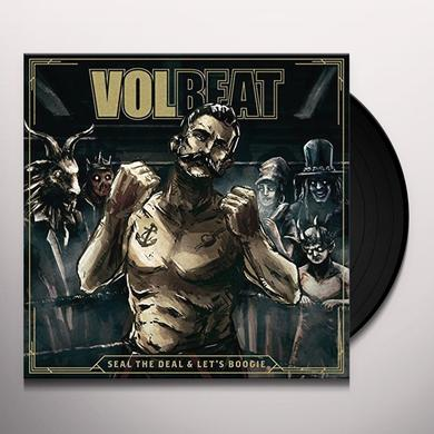 Volbeat SEAL THE DEAL & LET'S BOOGIE Vinyl Record - w/CD, UK Import