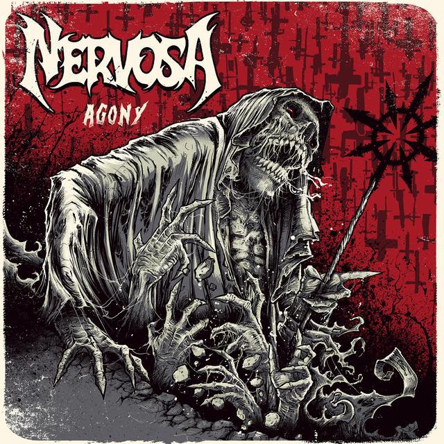 Nervosa AGONY Vinyl Record