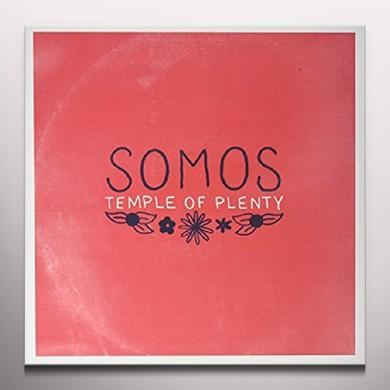 Somos TEMPLE OF PLENTY Vinyl Record - White Vinyl, Digital Download Included