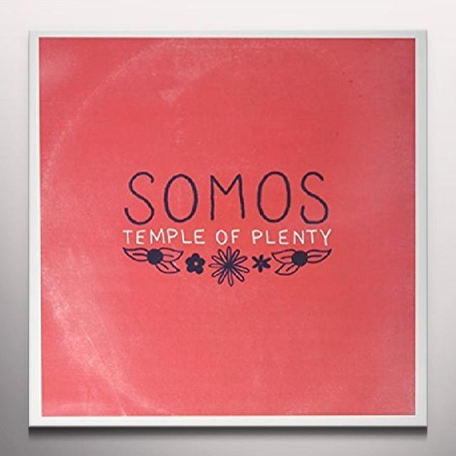 Somos TEMPLE OF PLENTY Vinyl Record - White Vinyl, Digital Download Included