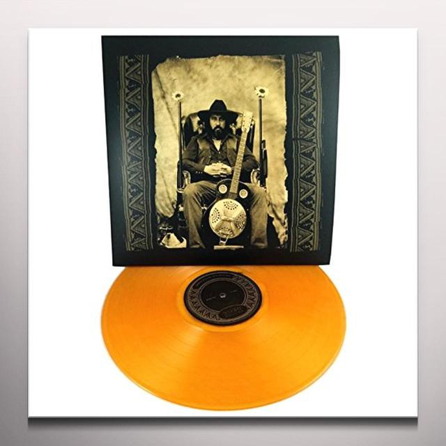 Brother Dege FOLK SONGS OF THE AMERICAN LONGHAIR Vinyl Record - Colored Vinyl, Gold Vinyl