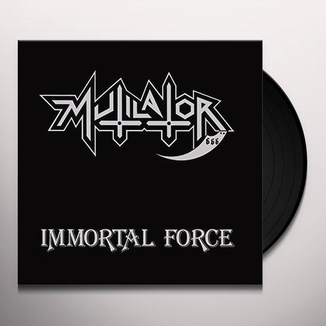 MUTILATOR IMMORTAL FORCE Vinyl Record