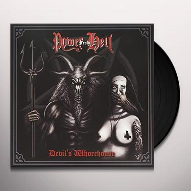 POWER FROM HELL DEVIL'S WHOREHOUSE Vinyl Record