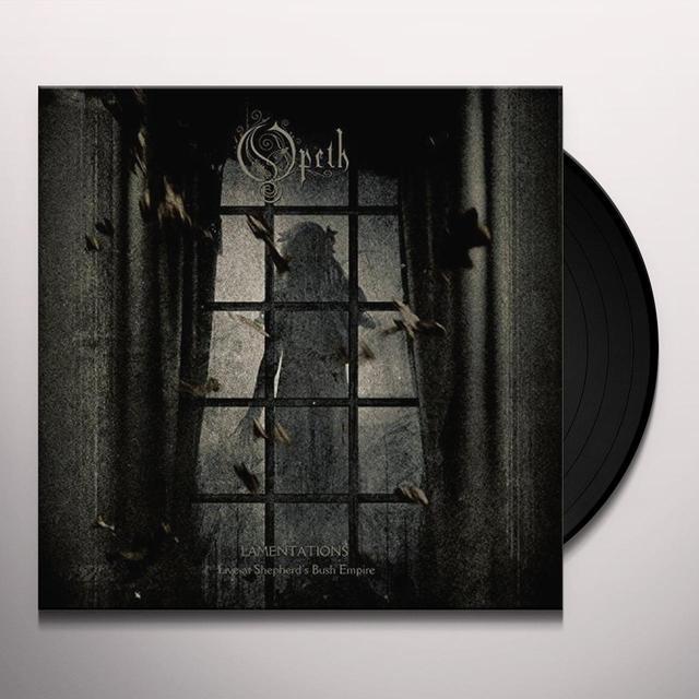Opeth LAMENTATIONS Vinyl Record - 180 Gram Pressing