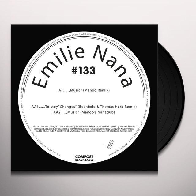 Emilie Nana COMPOST BLACK LABEL 133 Vinyl Record