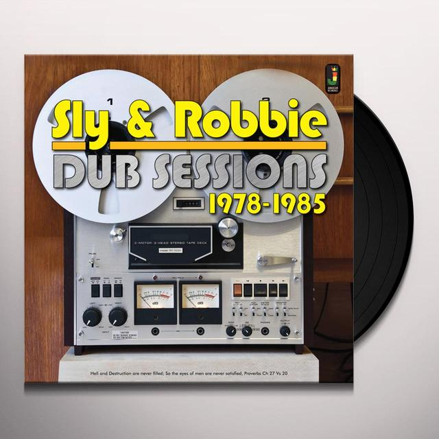 Sly & Robbie DUB SESSIONS 1978-1985 Vinyl Record