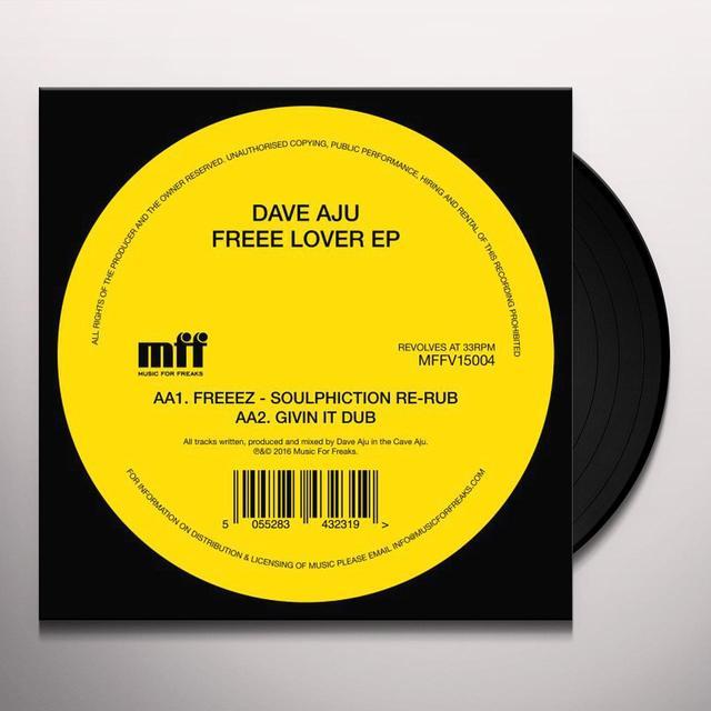 Dave Aju FREEE LOVER Vinyl Record