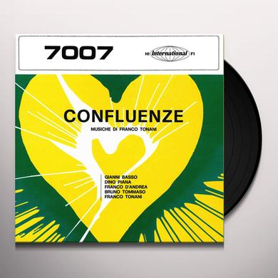 Franco Tonani CONFLUENZE Vinyl Record - 180 Gram Pressing