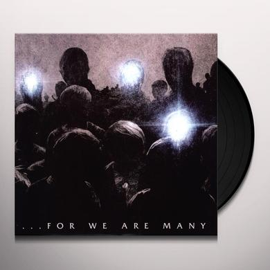 ALL THAT REMAIN FOR WE ARE MANY Vinyl Record - Canada Import