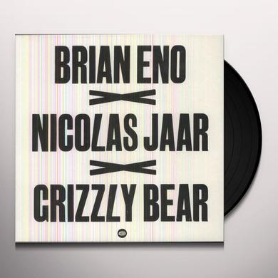 Brian Eno / Nicolas Jaar / Grizzly Bear BRIAN ENO X NICOLAS JAAR X GRIZZLY BEAR Vinyl Record - Canada Import