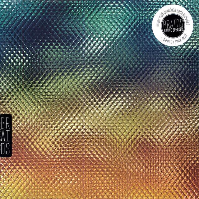 Braids NATIVE SPEAKER Vinyl Record - UK Import