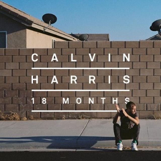 Calvin Harris 18 MONTHS Vinyl Record - Holland Import