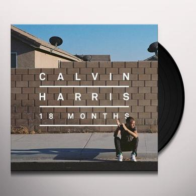 Calvin Harris 18 MONTHS Vinyl Record - Holland Import