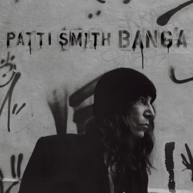 Patti Smith BANGA Vinyl Record - Canada Import