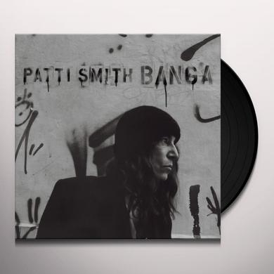 Patti Smith BANGA Vinyl Record - Canada Import