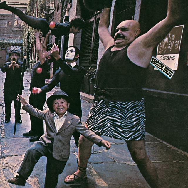The Doors STRANGE DAYS Vinyl Record - Mono, UK Import