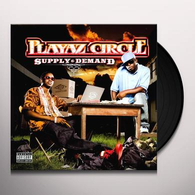 Playaz Circle SUPPLY & DEMAND Vinyl Record - UK Import