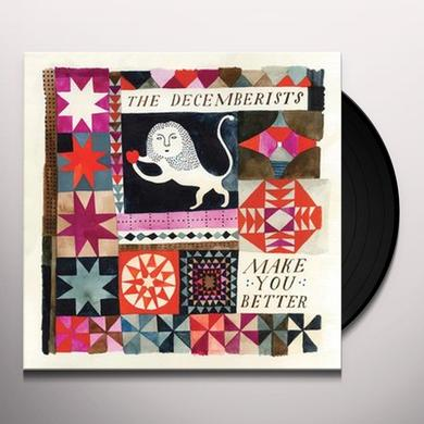 The Decemberists MAKE YOU BETTER Vinyl Record - Canada Import