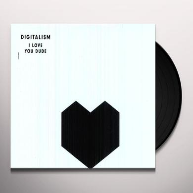 Digitalism I LOVE YOU DUDE Vinyl Record