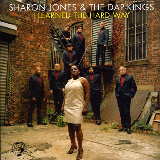 Sharon Jones & The Dap-Kings I LEARNED THE HARD WAY Vinyl Record - Canada Import