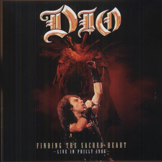 Dio FINDING THE SACRED HEART - LIVE IN PHILLY 86 Vinyl Record - Canada Import