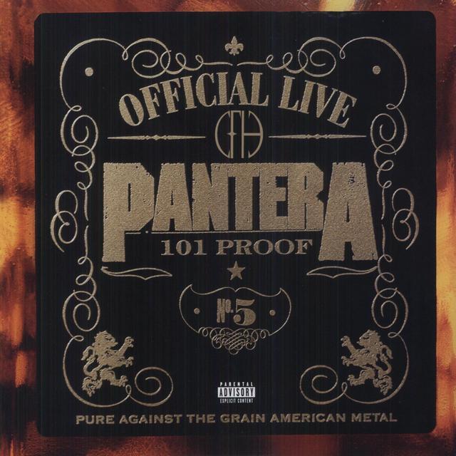 Pantera OFFICIAL LIVE Vinyl Record - Canada Import
