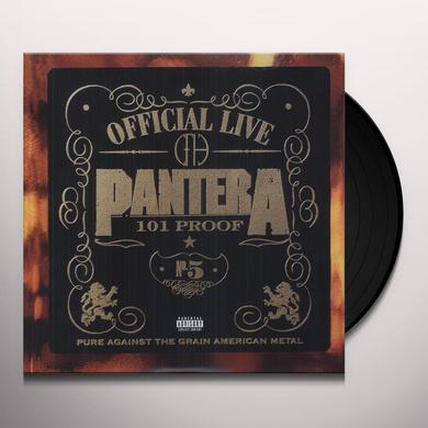 Pantera OFFICIAL LIVE Vinyl Record - Canada Import
