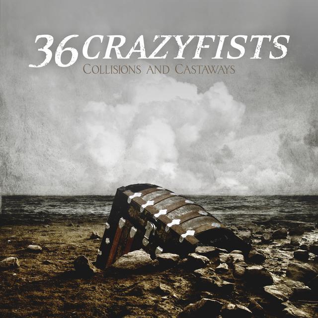 36 Crazyfists COLLISIONS & CASTAWAYS Vinyl Record - Canada Import