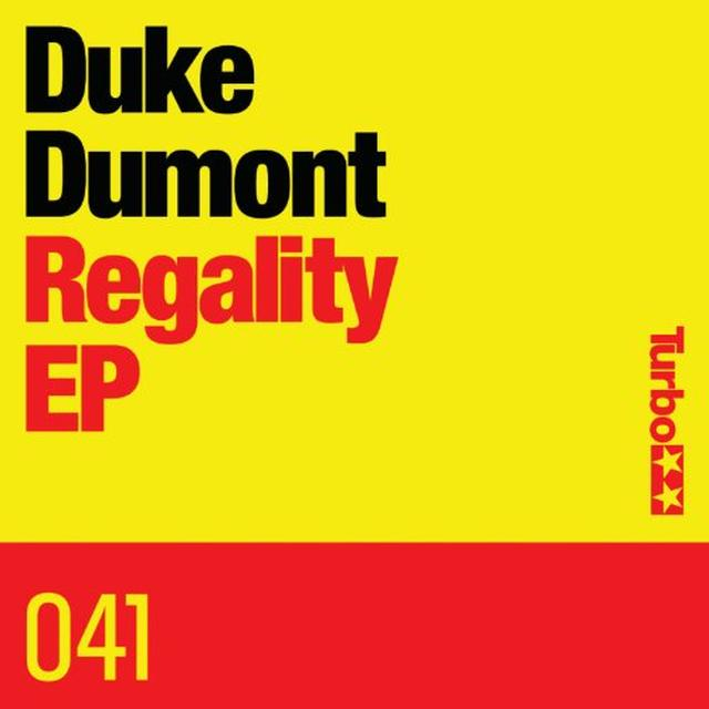 Duke Dumont REGALITY Vinyl Record - Canada Import