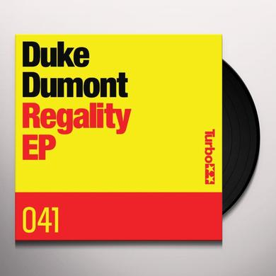Duke Dumont REGALITY Vinyl Record