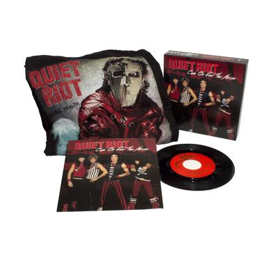 Quiet Riot CUM ON FEEL THE NOIZE / RUN FOR COVER Vinyl Record