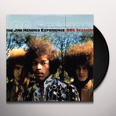 Jimi Hendrix BBC SESSIONS Vinyl Record - Canada Import