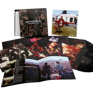 WEST COAST SEATTLE BOY: THE JIMI HENDRIX ANTHOLOGY Vinyl Record