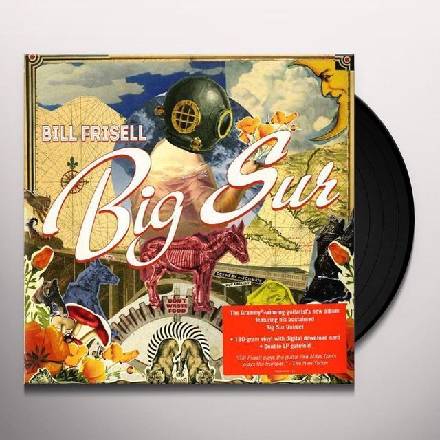 Bill Frisell BIG SUR Vinyl Record - Canada Import