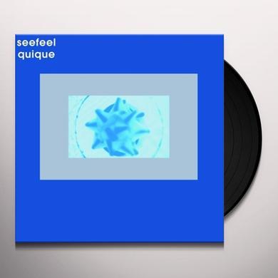 Seefeel QUIQUE Vinyl Record - Canada Release