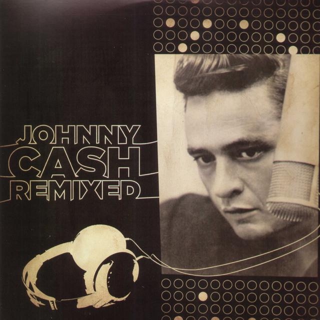 JOHNNY CASH REMIXED Vinyl Record - Canada Import