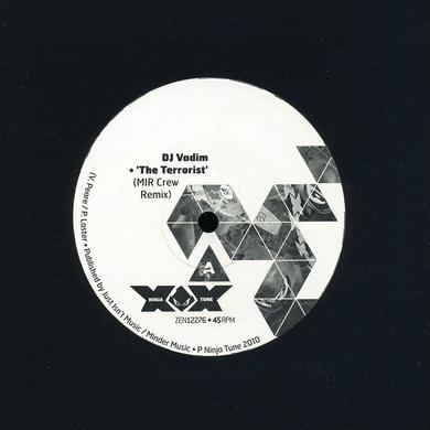 Dj Vadim TERRORIST REMIXES Vinyl Record