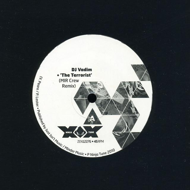 Dj Vadim TERRORIST REMIXES Vinyl Record - Canada Import