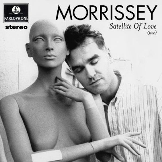 Morrissey SATELLITE OF LOVE Vinyl Record - Canada Import
