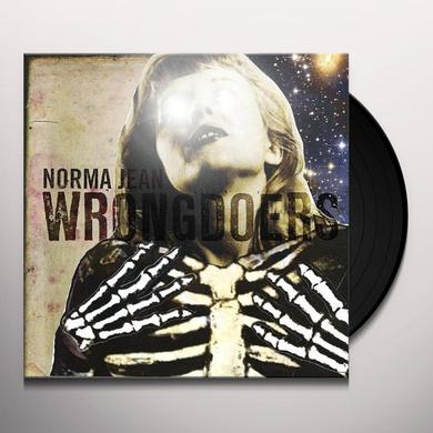 Norma Jean WRONGDOERS Vinyl Record - Canada Import