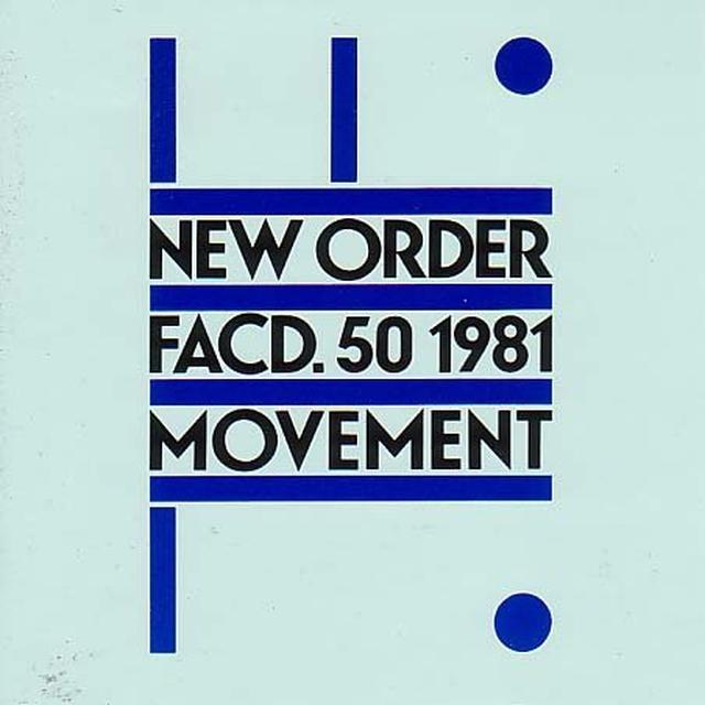 New Order MOVEMENT Vinyl Record - Canada Import