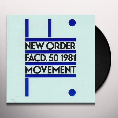 New Order MOVEMENT Vinyl Record