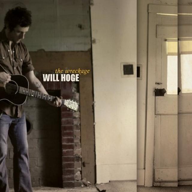 Will Hoge WRECKAGE Vinyl Record - Canada Import