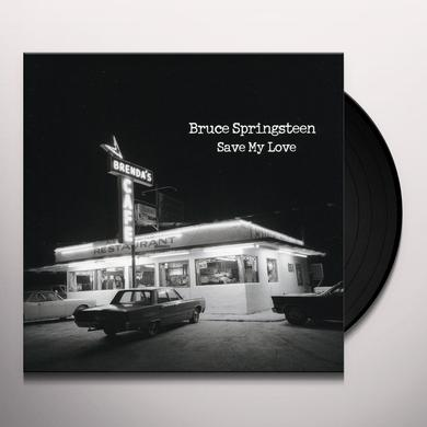 Bruce Springsteen SAVE MY LOVE / BECAUSE THE NIGHT Vinyl Record - Canada Import