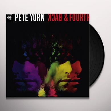 Pete Yorn BACK & FOURTH Vinyl Record - Canada Import