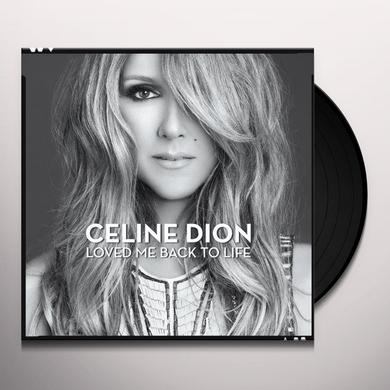 Celine Dion LOVED ME BACK TO LIFE Vinyl Record - Canada Import