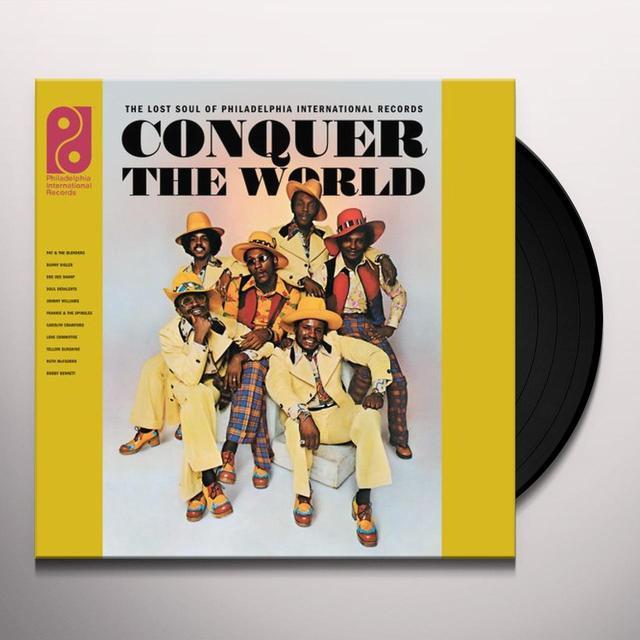 CONQUER THE WORLD: LOST SOUL OF PHILADELPHIA / VAR Vinyl Record