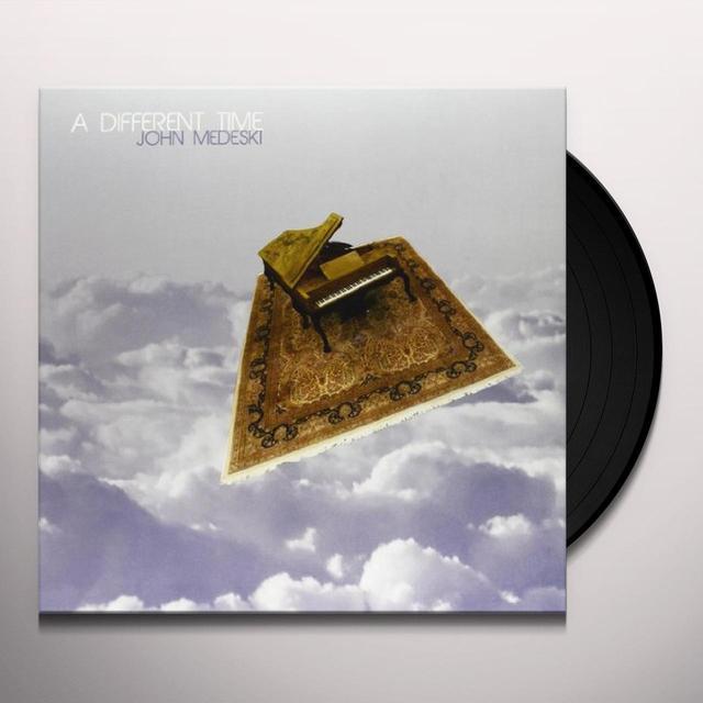 John Medeski DIFFERENT TIME Vinyl Record - Canada Import