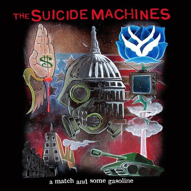 Suicide Machines WAR PROFITEERING IS KILLING US ALL / MATCH & SOME Vinyl Record